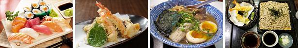Piatti della cucina giapponese